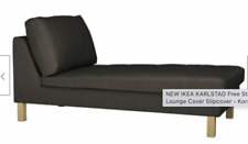 IKEA Karlstad Add On CHAISE Lounge COVER Korndal Brown NEW Chocolate Add-On