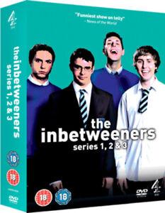 The Inbetweeners: Series 1-3 DVD (2010) Simon Bird cert 18 Fast and FREE P & P