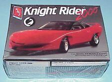 Mint Knight Rider 2000, Kitt 4000 TheTalking Car Model Kit Amt Ertl #8084 1:25