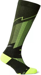 Nike Elite Graduated Compression Over The Calf Running Socks Unisex Size SX-4886