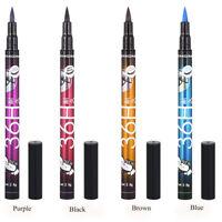 Women Waterproof Nice Color Eyeliner Black Liquid Comestics Eye Liner Pencil Pen