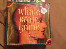 The Whole Brain Game by Talicor - New In Package, Creative Mind Games