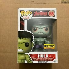 Funko Pop Avengers Age of Ultron 68 Hot Topic Exclusive Hulk