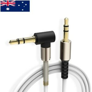 AUX  Audio Cable 3.5mm Stereo Male to Male for Phones Tablets MP3 iPad Car HQ