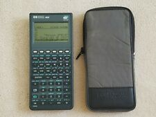 Hp Hewlett Packard 48Gx Graphing Calculator Black Lcd excellent condition
