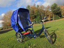 Rain canopy for tricycle KIDS CARRIER - TRIKIDOO - TREKIDOO BLUE/BLACK