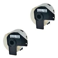 5 Roll White Address Labels DK-1209 Fits For Brother QL-570 QL-580N W// 5 Frame