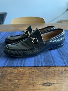 Vintage Gucci Horsebit Loafers 8.5 / 8