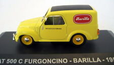 Nice 1/43 Fiat Topolino Van 500C Barilla Coffee  Ixo/Altaya