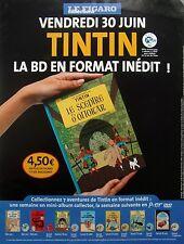 page de publicite -   SORTIE BD TINTIN   en  2004 ref. 49822