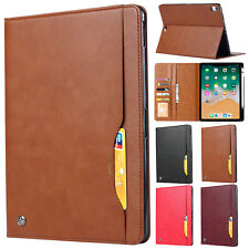 "For iPad 7th Generation 10.2"" Tablet Case Leather Flip Card Wallet Stand Cover"