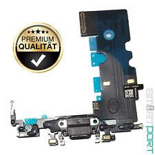 FÜR iPHONE 8 LADEBUCHSE SCHWARZ STEREO MIKROFON ANTENNE CONNECTOR USB PORT FLEX