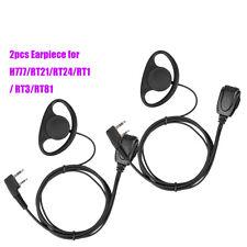 2PCS G-type Ear-hook Earpiece for Retevis RT1 Kenwood TYT Wouxun Two Way Radios