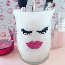 Glitter Makeup Brush Holder- Eyes and Lips
