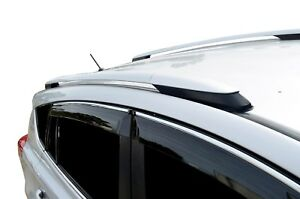 Silvery OEM style Roof Rails for Toyota RAV4 12-18 Alloy