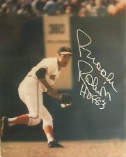 Orioles Brooks Robinson Autograph 8x10 Photo Auto w/ HOF 83 inscription