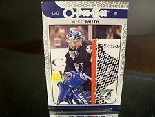 Rare Mike Smith O-Pee-Chee 2009 Card #149 Tampa Bay Lightning Hockey