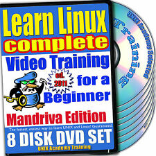 Learn Linux Complete, 8-DVD Video Training Mandriva Set