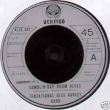 "SENSATIONAL ALEX HARVEY BAND ~ GAMBLIN' BAR ROOM BLUES ~ 1975 UK 7"" SINGLE"