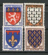TIMBRE N° 572-575 NEUF * * GOMME ORIGINALE -  SERIE D'ARMOIRIES DE PROVINCES