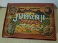 Jumanji Board Game Real Retro Wooden Box - 100% Complete - Cardinal Games - EUC
