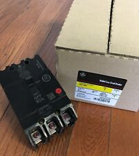 GE GENERAL ELECTRIC TEY380 NEW CIRCUIT BREAKER 3 POLE 80 AMP 277/480V (Box Of 2)
