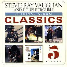 Stevie Ray Vaughan - Original Album Classics [New CD] Boxed Set