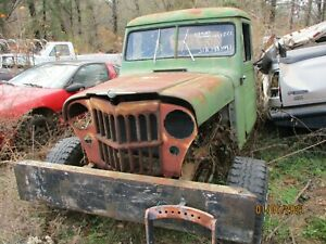 1951 WILLYS JEEP PARTS TRUCK, PARTS TRUCK..