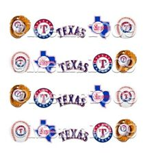 Texas Rangers Nail art decals (Water Decals) Rangers Nail Art Decals
