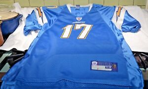 Reebok On Field  PHILIP RIVERS CHARGERS Authentic NFL Team JERSEY 54