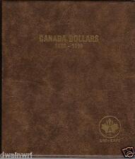 "Unimaster Coin Album #164  ""Canada Dollars 1935-1986"" Silver Money Storage"