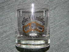 Jack Daniel's glass - Old No. 7 Brand Whiskey- Gold and black design on front