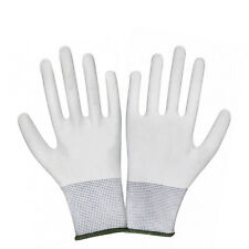 1Pair White Nylon Wrapping Gloves Application Tools For Car Wrap Vinyl Stylish