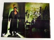 The Undertaker House Of Dead Man Wrestling Poster 16x21 Wrestler WWF Mania