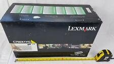 Lexmark C792X1YG Yellow Toner Cartridge - Unused