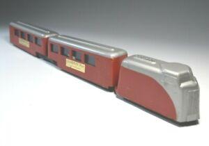 Streamlined Train Toy Metal Futuristic Vintage H0 Gauge Boxed England Rare 1940