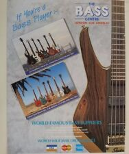 retro magazine advert 1988 BASS CENTRE / STATUS