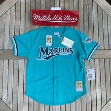 Mitchell & Ness Andre Dawson 1995 Authentic Mesh BP Jersey Florida Marlins