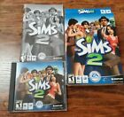 The Sims 2 (apple Mac, 2005) Dvd-rom Computer Game W/ Key Complete In Box