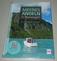 Meeres Angeln in Norwegen - Der ultimative Ratgeber Korn Rose Buch Neu!