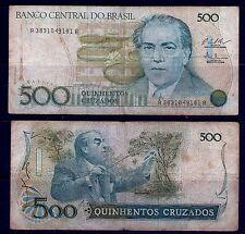 Brasil, 500 yeguas, notas, moneda, papel moneda, CIRCULADO