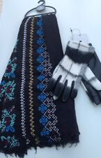 Next ladies gloves size medium and scarf
