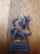 WARHAMMER. ORCS orruks chiens de guerre Hobgoblin Warlord GHAZAK Khan. Métal.