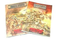 Flames of War Bridge North Africa & Fortress Europe manuali 15 mm WWII (D)