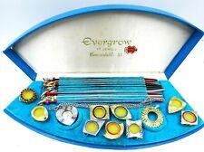 Vintage Evergrow 17 Jewels Watch Interchangeable Watch Set
