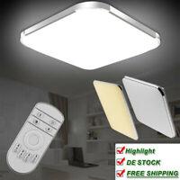 LED Deckenleuchte 16W-96W Decken lampe Wohnzimmer Badleuchte Dimmbar Küchenlampe