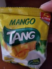 TANG Instant Drink Energy Powder Mix MANGO 125g   Lot of 2 Free Shiping