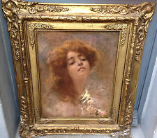 Gorgeous, Vincenzo Irolli (1860-1949) Italian painter - Oil on canvas (relined)