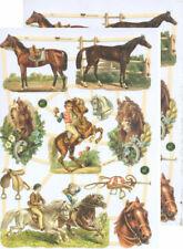 Decorazioni tema cavalli per scrapbooking
