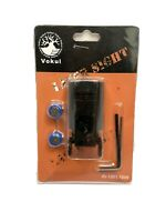 Vokul Tactical Red Laser Dot Sight For Pistol Rifle Gun Picatinny Mount 20mm New